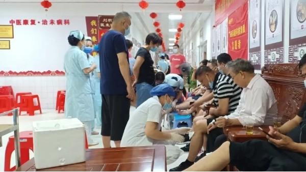 科康公益活动丨科康携手隆安县中医医院,开展送健康公益活动